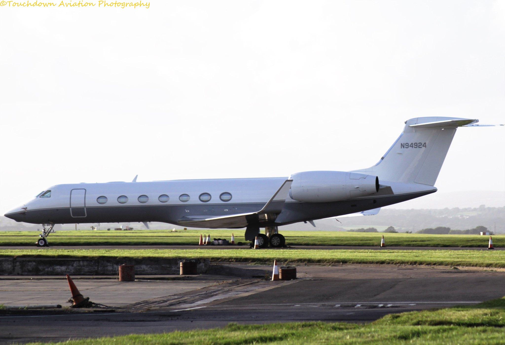 Gulfstream G550 N94924 29SEP16