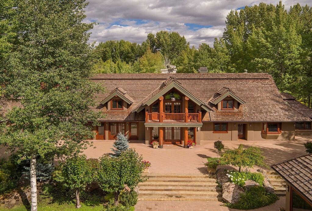 Загородное ранчо Брюса Уиллиса в штате Айдахо