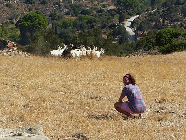 paul et les chèvres de Naxos