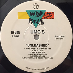 UMC'S:UNLEASHED(LABEL SIDE-A)