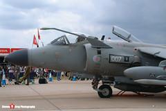 ZH806 007 N - NB11 - Royal Navy - British Aerospace Sea Harrier FA2 - Fairford RIAT 2004 - Steven Gray - DSCF1826
