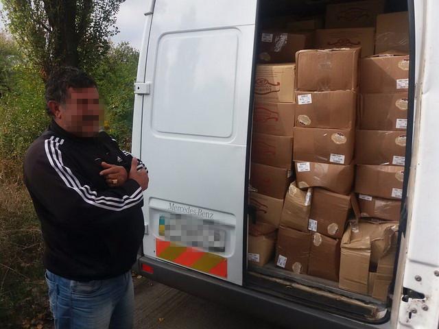 На Донеччині СБУ затримала нелегальні вантажі на понад мільйон гривень