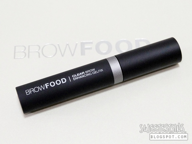 browfood brow transformation system clear brow enhancing gelfix