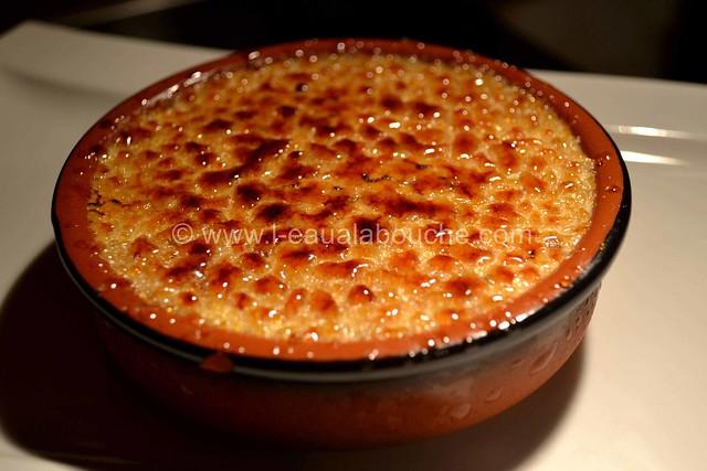 Crème Brûlée Glacée au Pralin & Amaretto  © Ana Luthi  tous droits réservés 021