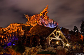 Quiet Night at Splash Mountain | by AndrewSerranoPhotography