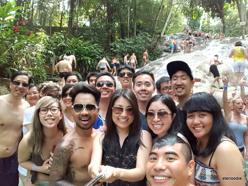 Dunn's River Falls wefie
