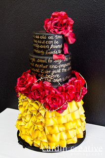 Belle Wedding Cake | by Gimme Some Sugar (vegas!)