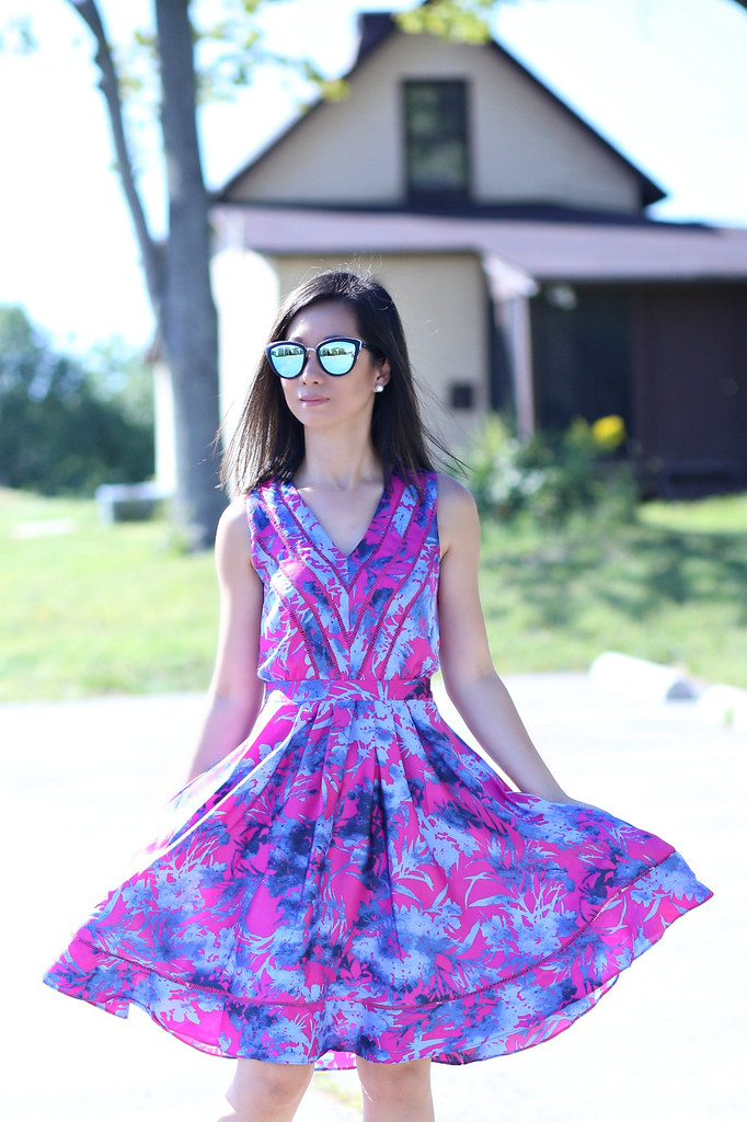 BananaRepublicFloralDress_SydneysFashionDiary