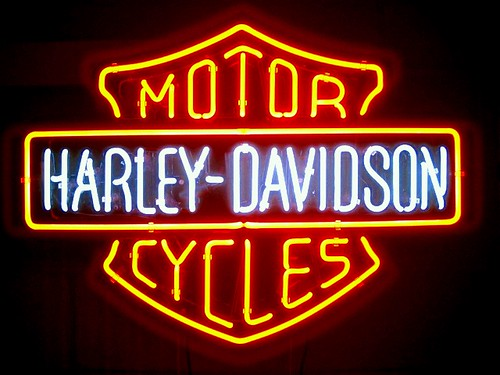 Harley Davidson Neon Signs For Sale