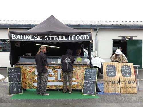 Balinese Streetfood Stand der De Satebakkers (auf dem Street Food Festival in Osnabrück)