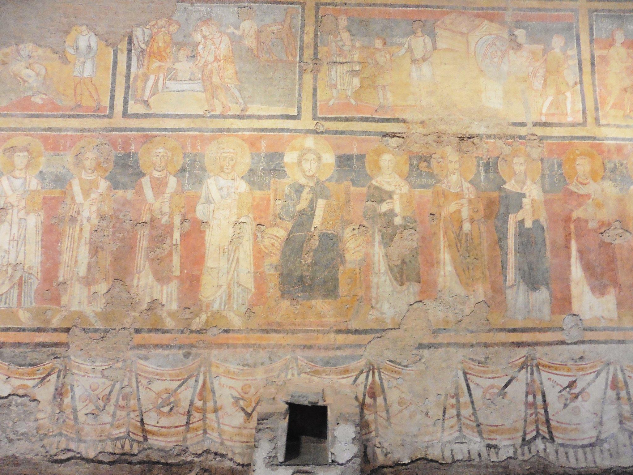Artwork in Roman Forum