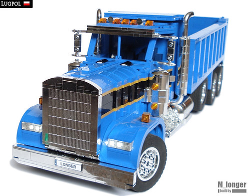 Kenworth W900 Dump Truck | by M_longer