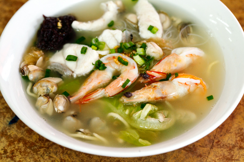 Pong Kee Mixed Seafood Noodles
