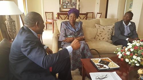 Zambia GEJ meets Edith