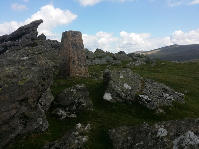 Trig at Sourton Tor