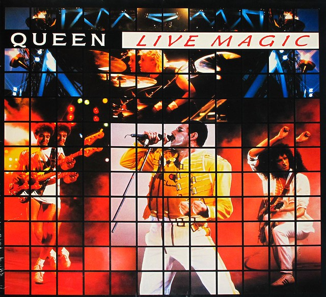 "QUEEN LIVE MAGIC GATEFOLD 12"" LP"