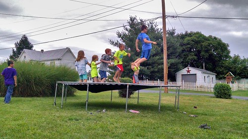 July 2 2016 Trampoline Fun
