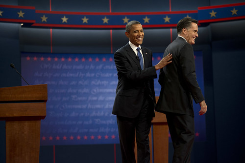 Barack Obama and Mitt Romney in Denver, CO - October 3rd | by Barack Obama