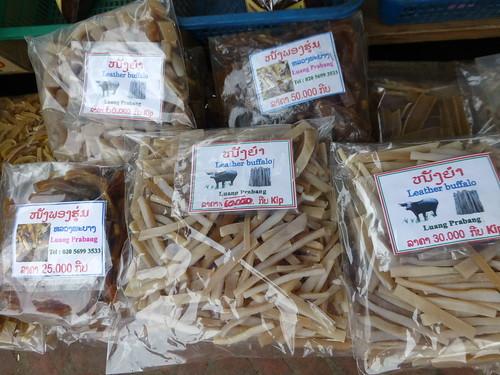 水牛皮是一种老挝美食