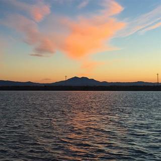 #sunset #mountdiablo #delta