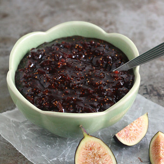 Fig-Balsamic Jam | by Tracey's Culinary Adventures