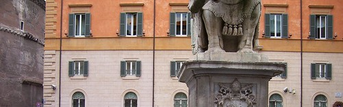 Elephant and Obelisk - Rome | by ell brown