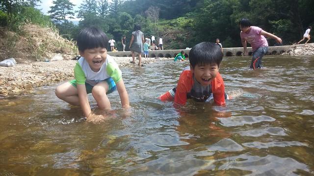 우복동 가족캠프-물놀이