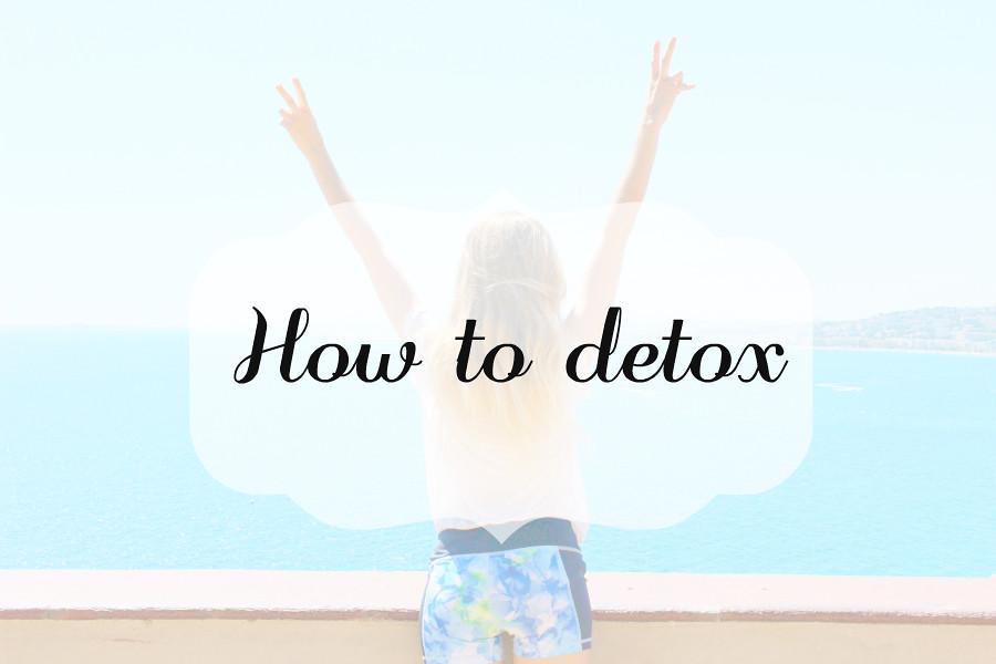 Vinkkejä detoxiin