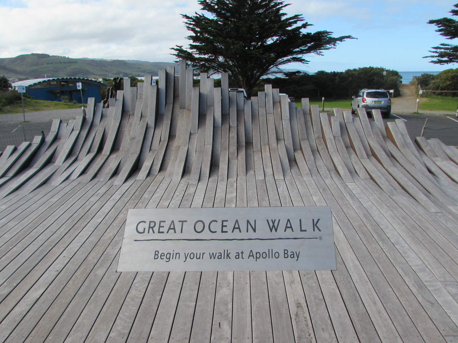 Official starting point of the Great Ocean Walk!