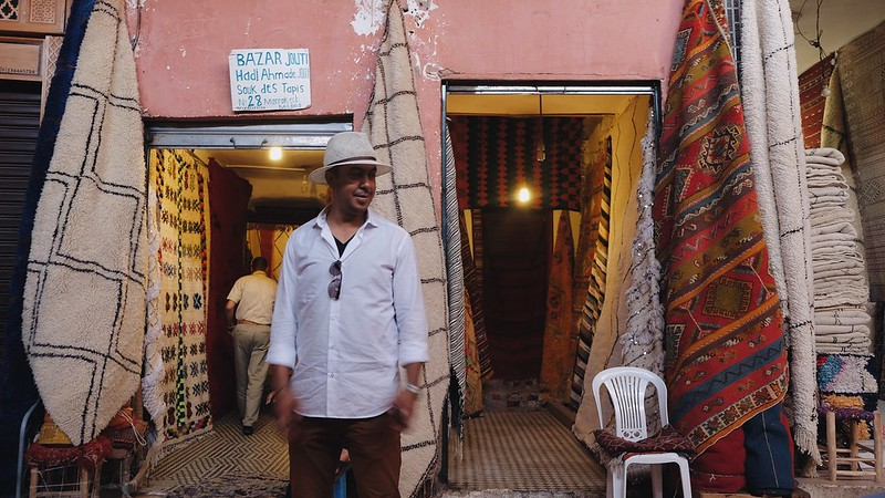 Our tour guide Youseff Marrakech Morocco