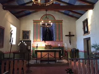 Church, Mission Nuestra Senora de Soledad, Soledad California, July 2016