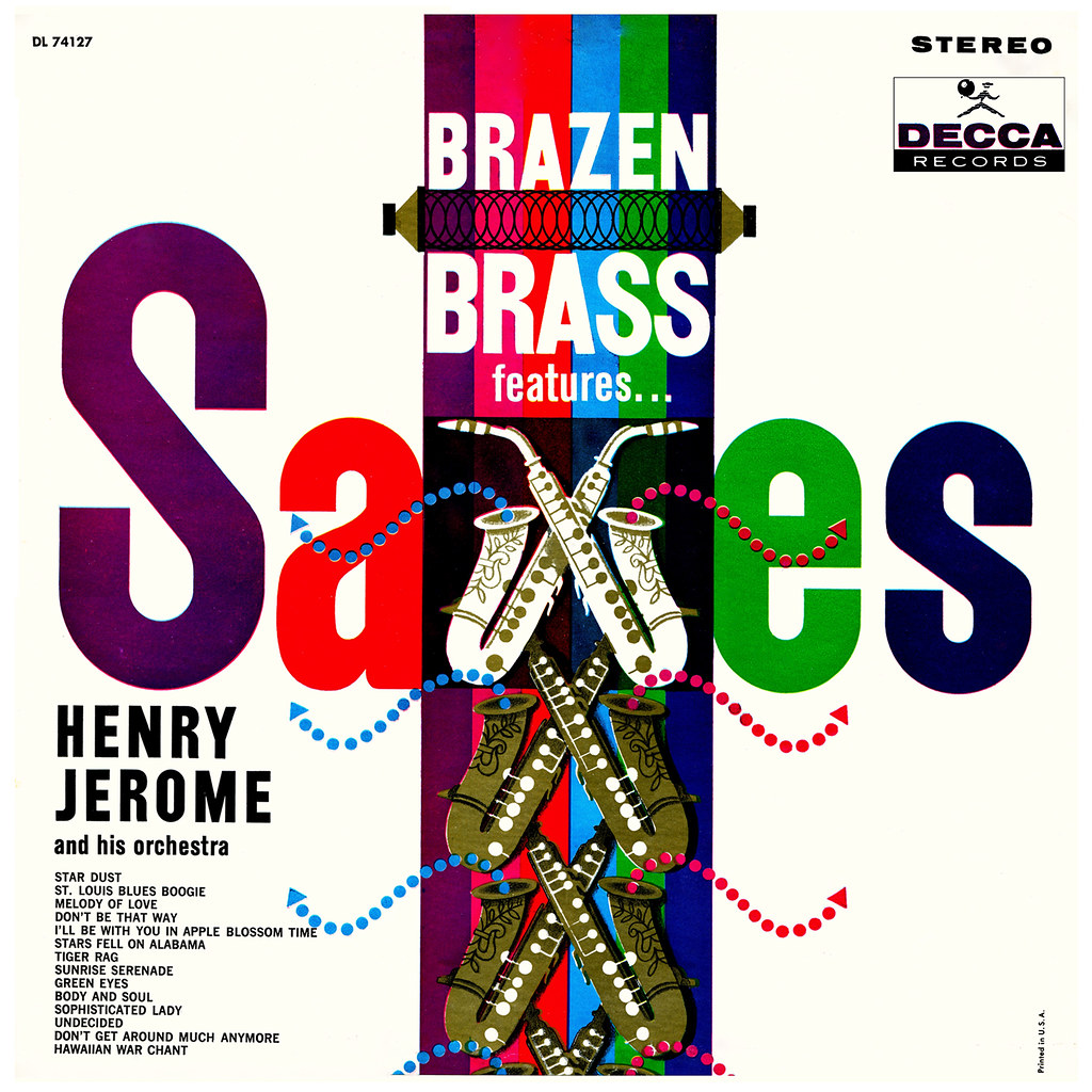 Henry Jerome - Brazen Brass Features... Saxes