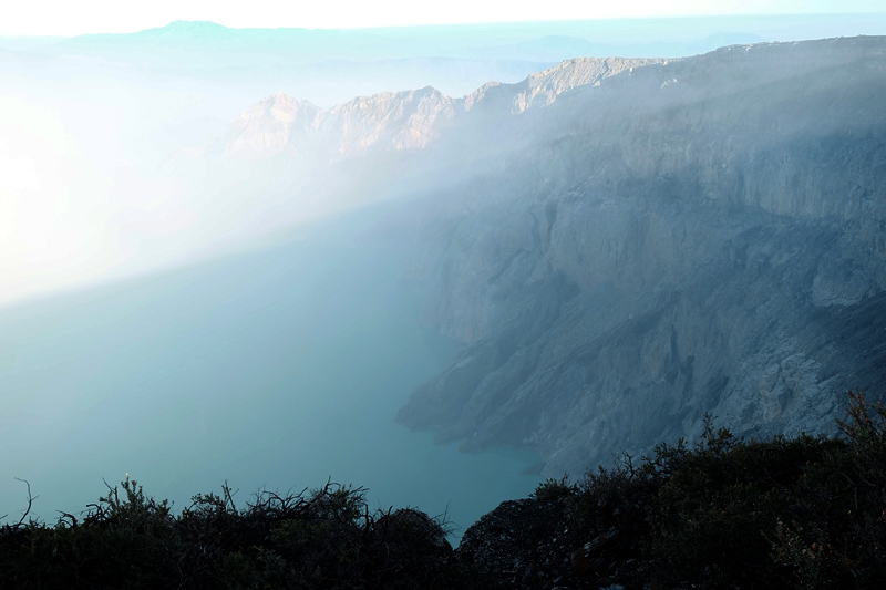 ijen for first time hikers