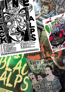 Nine Black Alps Poster Collage | by brewlabel