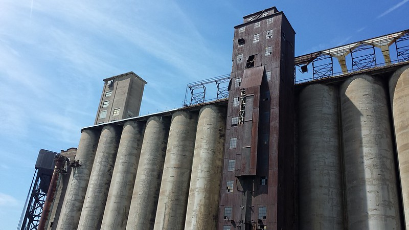 I Wanted To Go Check Out The Grain Silos