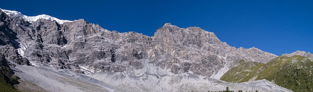 Ortler-Nordwand, Payerhütte, Tabarettahütte