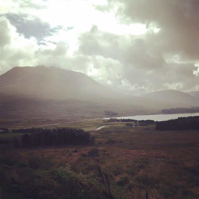 Loch Tulla Viewpoint, Black Mount, Highlands  #Scottishhighlands #scotland #scenery