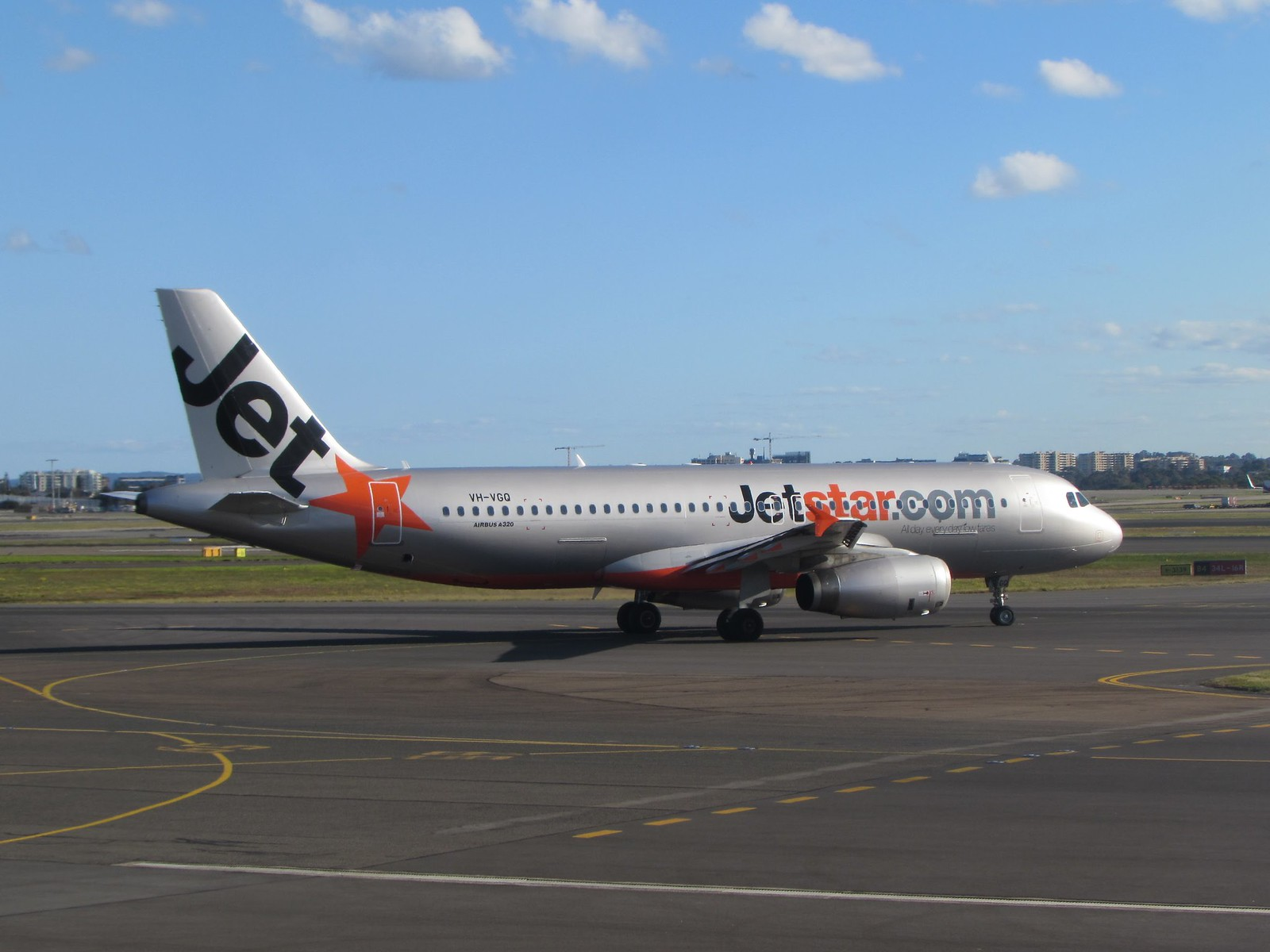 Waiting for our JetStar flight to Cairns