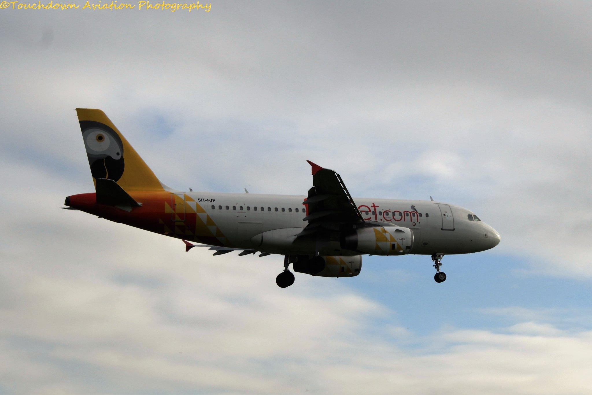 FastJet Airbus A319 5H-FJF 20SEP16