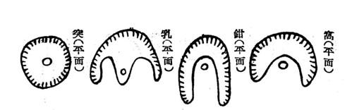 風水における穴形の四象