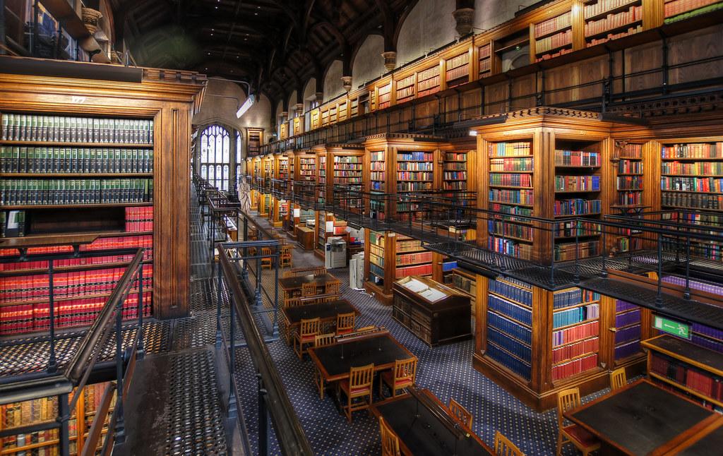 Lincoln's Inn Library, bibliothèque du droit à Londres.