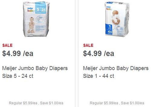 Meijer Brand Diapers