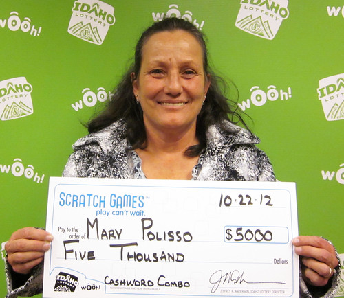 Mary Polisso - $5,000 Cashword Combo | by Idaho Lottery