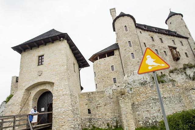 Zamek Bobolice - Jura - Poland
