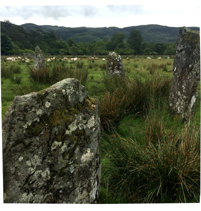 Holiday in Scotland 2016 - Stone Circle