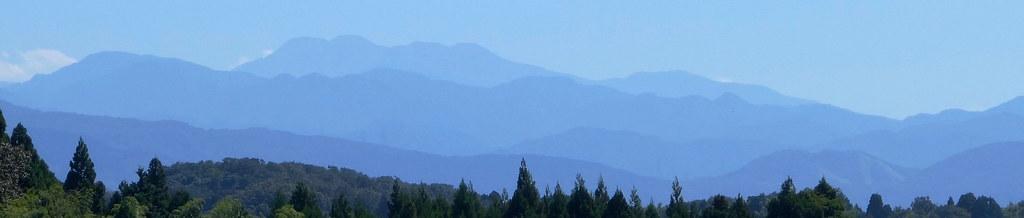 Hakusan mountain range