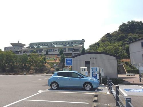 石鎚山ハイウェイオアシス 電気自動車用急速充電器
