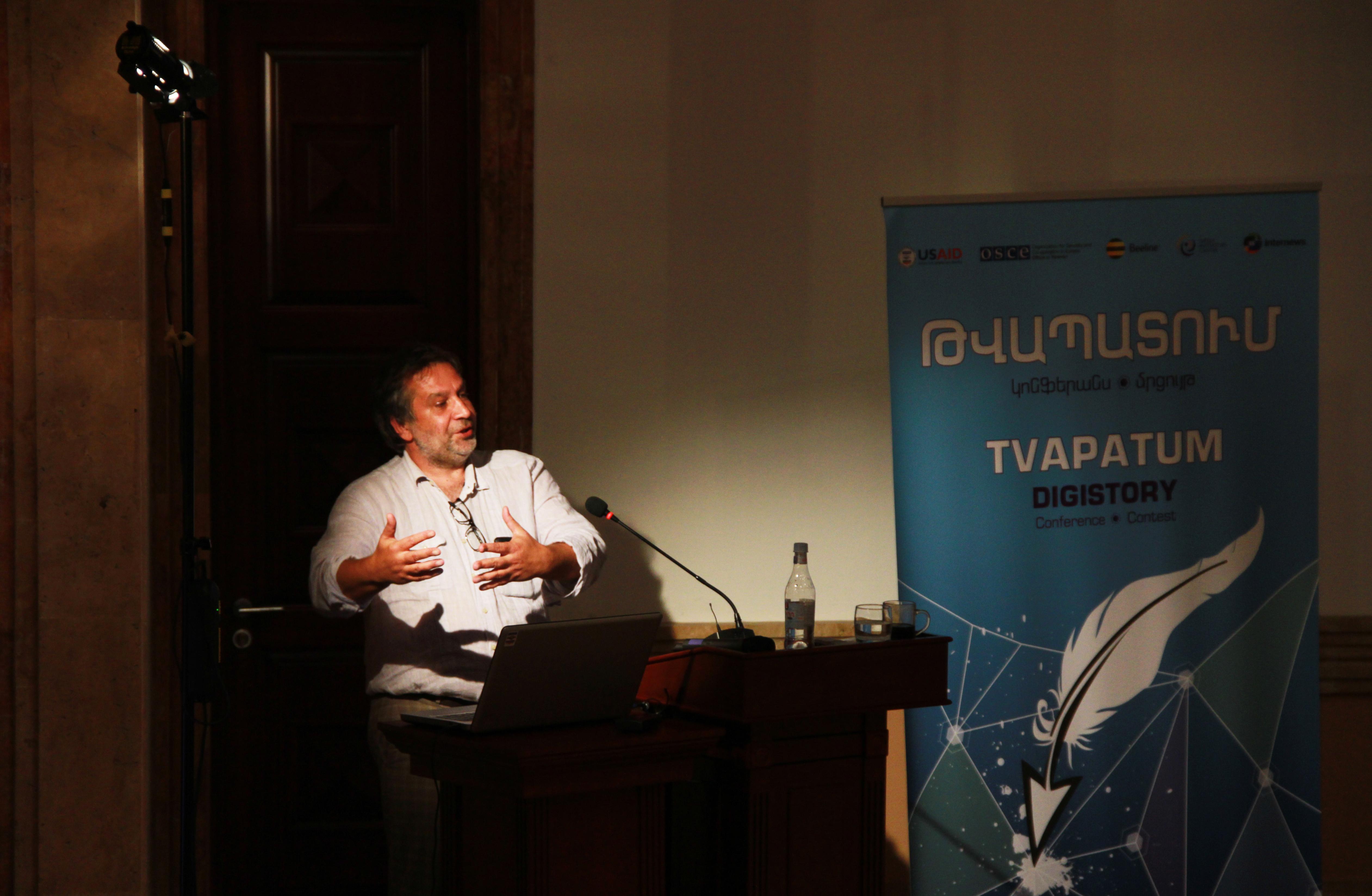Վասիլի Գատովը՝ Թվապատում 2016 կոնֆերանսին
