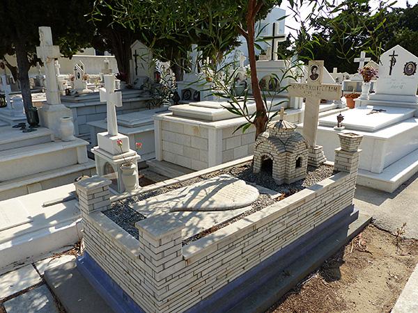 le petit cimetière de Naxos