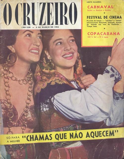 Cruzeiro, 6 Março 1954 - capa
